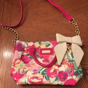 Betsey Johnson Floral Purse